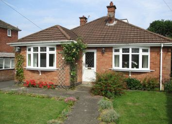 Thumbnail 3 bed detached bungalow for sale in Newstead Avenue, Burbage, Leics