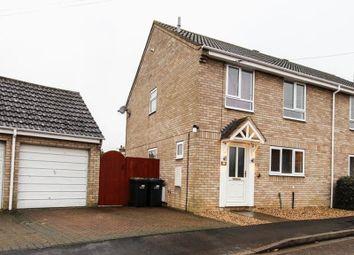 Thumbnail 4 bedroom semi-detached house for sale in Guntons Close, Soham, Ely