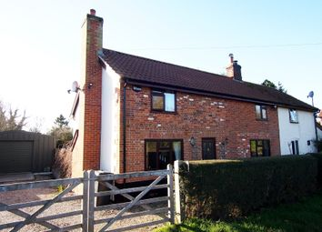 Thumbnail 3 bed cottage for sale in Low Road, Hackford, Wymondham