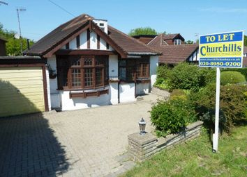 Thumbnail 4 bed detached bungalow to rent in Caldecote Gardens, Bushey