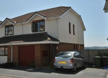 Thumbnail 3 bed semi-detached house to rent in Hawley Manor, Barnstaple