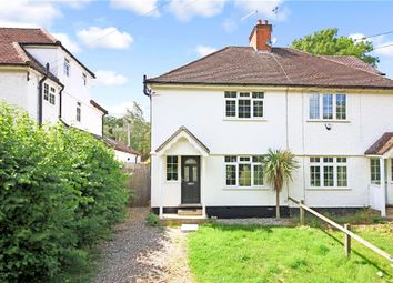 Thumbnail 3 bed semi-detached house for sale in Church Lane, Madingley, Cambridge