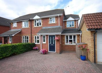 Thumbnail 3 bed semi-detached house for sale in Redwood Drive, Aylesbury, Buckinghamshire