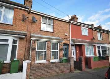 Thumbnail 3 bed terraced house for sale in Whitby Road, Cheriton, Folkestone