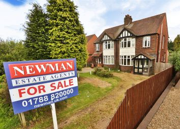 Thumbnail 3 bed semi-detached house for sale in Hillmorton Road, Rugby