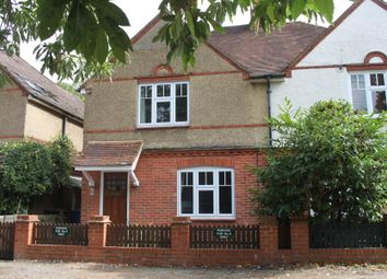 Thumbnail 2 bed semi-detached house to rent in Lower Bourne, Farnham, Surrey