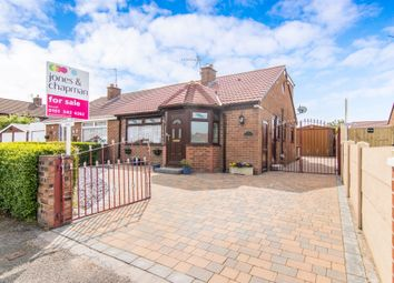 Thumbnail 2 bed semi-detached bungalow for sale in Ridgemere Road, Pensby, Wirral