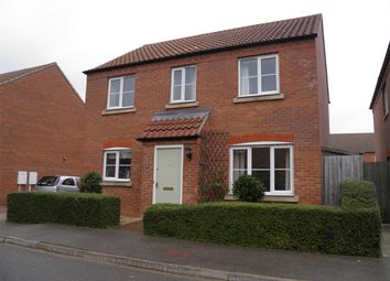 Thumbnail 4 bed detached house to rent in Heartsease Way, Bourne, Lincolnshire