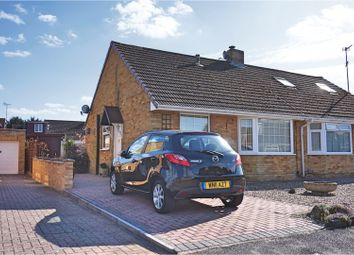 Thumbnail 2 bed semi-detached bungalow for sale in Kingsley Way, Swindon