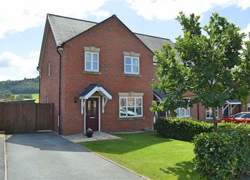 Thumbnail 3 bed end terrace house for sale in 38, Meadow View, Newtown, Powys