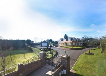 Thumbnail 4 bed detached house for sale in Church Road, Farley Hill, Reading