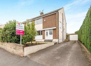Thumbnail 3 bed semi-detached house for sale in Natty Lane, Illingworth, Halifax