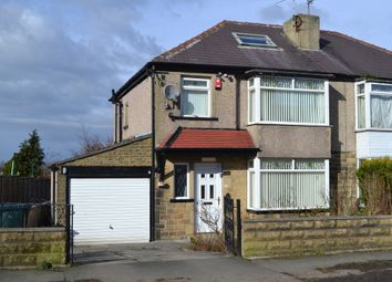 Thumbnail 3 bed semi-detached house for sale in Poplar Grove, Bradford