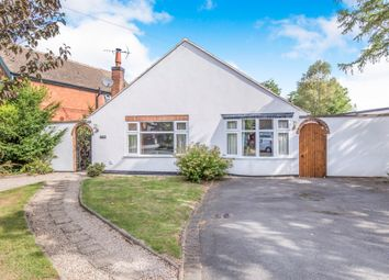 Thumbnail 4 bed detached bungalow for sale in School Lane, Stapleton, Leicester