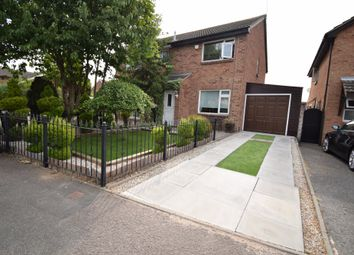 Thumbnail 2 bedroom semi-detached house for sale in Heatherbrook Road, Beaumont Leys, Leicester