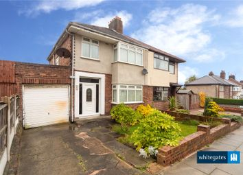 Thumbnail 3 bed semi-detached house for sale in Manor Way, Liverpool