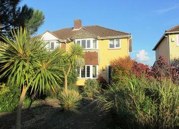 Thumbnail 3 bedroom semi-detached house for sale in Brockhurst Road, Gosport