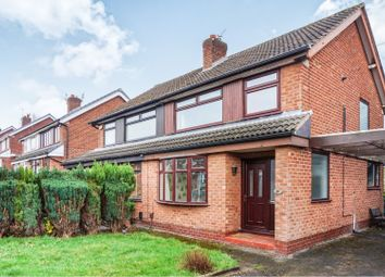 Thumbnail 3 bedroom semi-detached house for sale in Henbury Drive, Woodley, Stockport