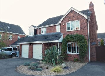 Thumbnail 4 bed detached house for sale in Claricoates Drive, Coddington, Newark