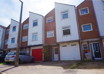 Thumbnail 4 bed town house for sale in Jerounds, Harlow