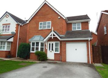 Thumbnail 4 bedroom detached house for sale in Clayton Close, Crewe, Cheshire