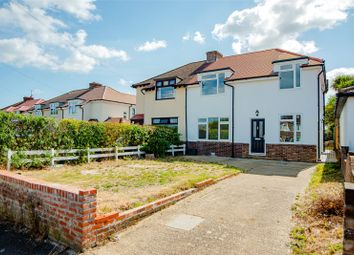 Thumbnail 4 bed semi-detached house for sale in Lunsford Lane, Larkfield, Aylesford