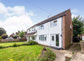 Thumbnail 4 bed semi-detached house for sale in St. Marys Drive, Pound Hill, Crawley