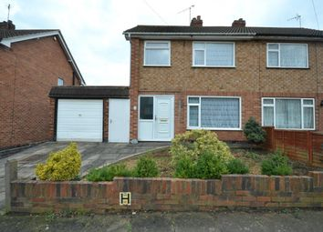 Thumbnail 3 bed semi-detached house for sale in Skelton Drive, Leicester