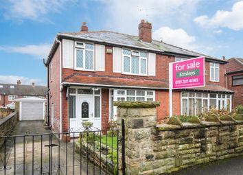 Thumbnail 3 bedroom semi-detached house for sale in Oakwood Drive, Rothwell, Leeds
