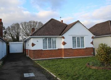 Thumbnail 2 bed detached bungalow for sale in Markham Avenue, Bournemouth