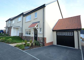 Thumbnail 3 bed semi-detached house for sale in Mountford Drive, Bovey Tracey, Newton Abbot, Devon