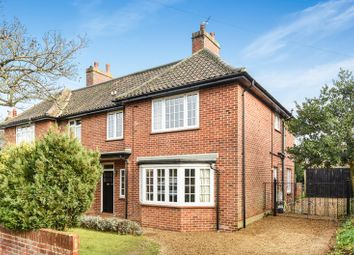 Thumbnail 4 bed semi-detached house for sale in College Road, Norwich, Norfolk