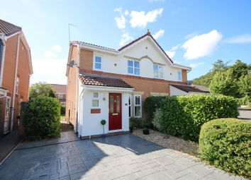Thumbnail 3 bed semi-detached house for sale in Millcrest Close, Worsley, Manchester