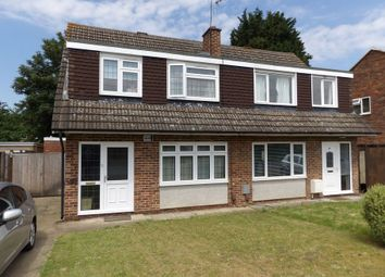 Thumbnail 4 bed semi-detached house to rent in Nobles Way, Egham