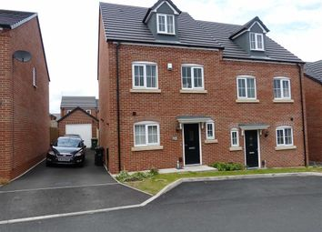 Thumbnail 4 bed semi-detached house for sale in March Drive, Dudley, West Midlands