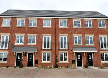 "Thumbnail 3 bed terraced house for sale in ""The Greyfriars "" at London Road, Rockbeare, Exeter"