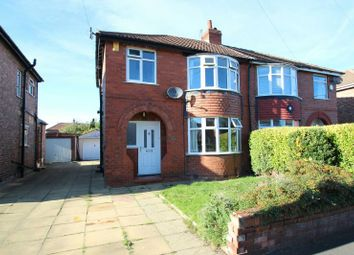 Thumbnail 3 bed semi-detached house for sale in Leicester Avenue, Timperley, Altrincham