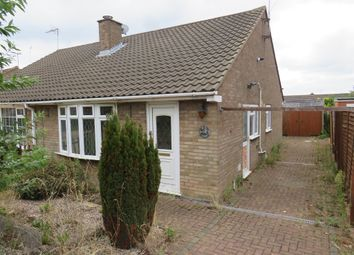 Thumbnail 2 bedroom semi-detached bungalow for sale in Shelley Drive, Bletchley, Milton Keynes