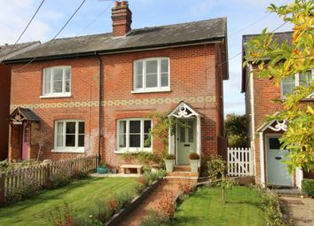Thumbnail 3 bed semi-detached house for sale in Inhams Row, Old Alresford, Alresford