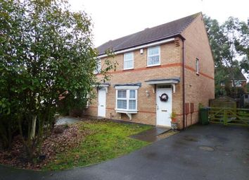 Thumbnail 3 bed semi-detached house for sale in Loughland Close, Whetstone, Leicester, Leicestershire