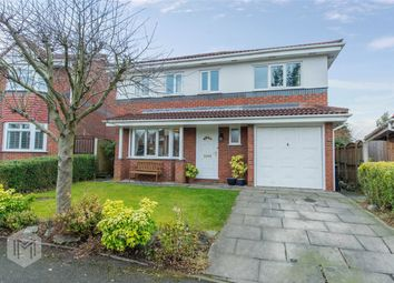 Thumbnail 5 bed detached house for sale in Helmclough Way, Worsley, Manchester