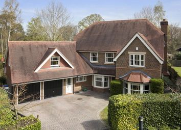 Thumbnail 5 bed detached house to rent in Sandringham Park, Cobham