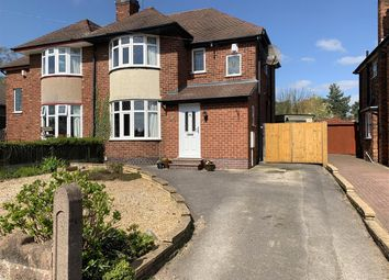 Thumbnail 4 bed semi-detached house for sale in Kingsley Road, Stafford