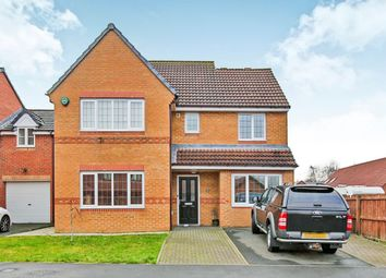 Thumbnail 4 bed detached house to rent in Cloverhill Court, Stanley