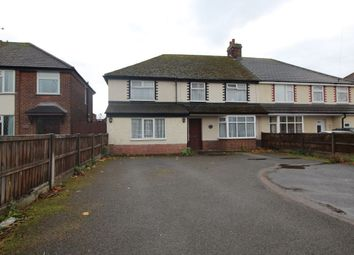 Thumbnail 5 bed semi-detached house for sale in Burton Road, Branston, Burton-On-Trent