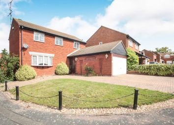 Thumbnail 4 bed detached house for sale in Walsingham Close, Luton