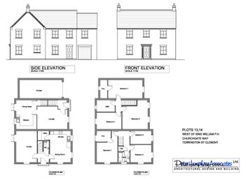 Thumbnail 3 bed semi-detached house for sale in Churchgate Way, Terrington St. Clement, King's Lynn
