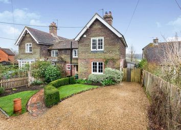 Thumbnail 3 bed semi-detached house for sale in Fairhazel, Piltdown, Uckfield, East Sussex