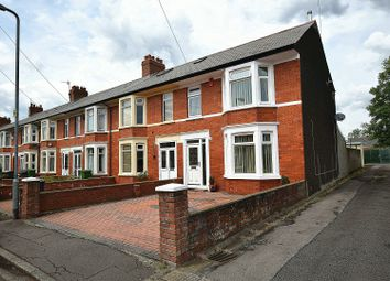 Thumbnail 3 bedroom end terrace house for sale in Dryburgh Avenue, Rhiwbina, Cardiff.