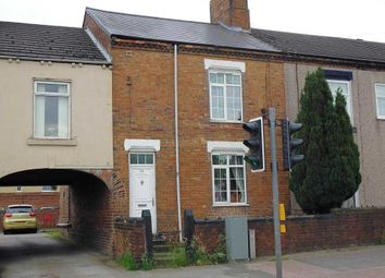 Thumbnail 3 bed terraced house to rent in Lowgates, Staveley, Chesterfield
